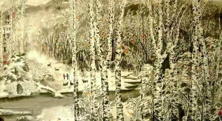 【人物传真】著名蒙古族青年艺术家——敖特 第23张 【人物传真】著名蒙古族青年艺术家——敖特 蒙古画廊