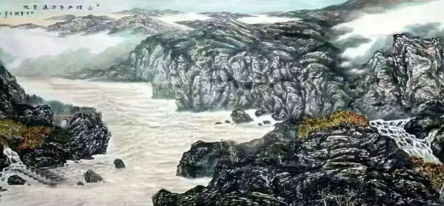【人物传真】著名蒙古族青年艺术家——敖特 第26张 【人物传真】著名蒙古族青年艺术家——敖特 蒙古画廊