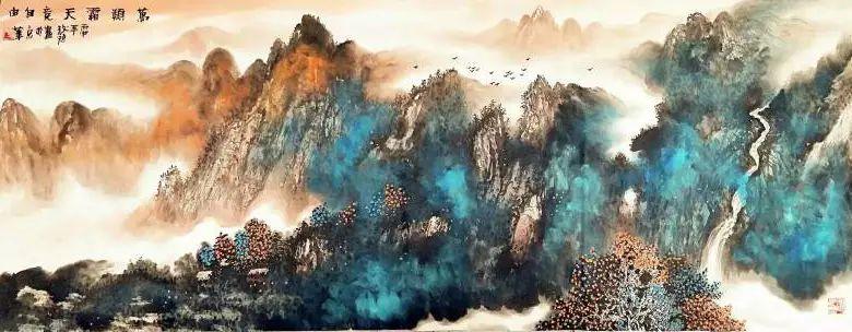 【人物传真】著名蒙古族青年艺术家——敖特 第25张 【人物传真】著名蒙古族青年艺术家——敖特 蒙古画廊