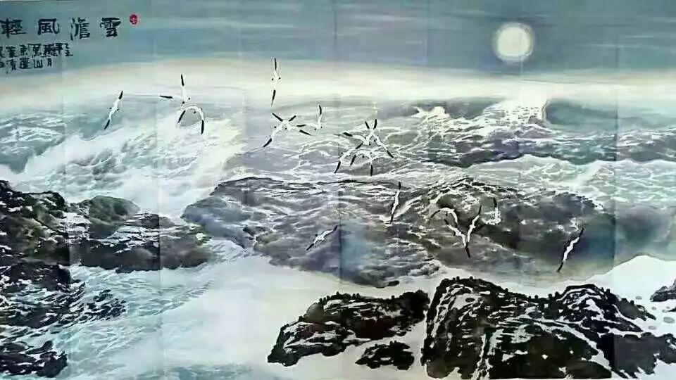 【人物传真】著名蒙古族青年艺术家——敖特 第31张 【人物传真】著名蒙古族青年艺术家——敖特 蒙古画廊