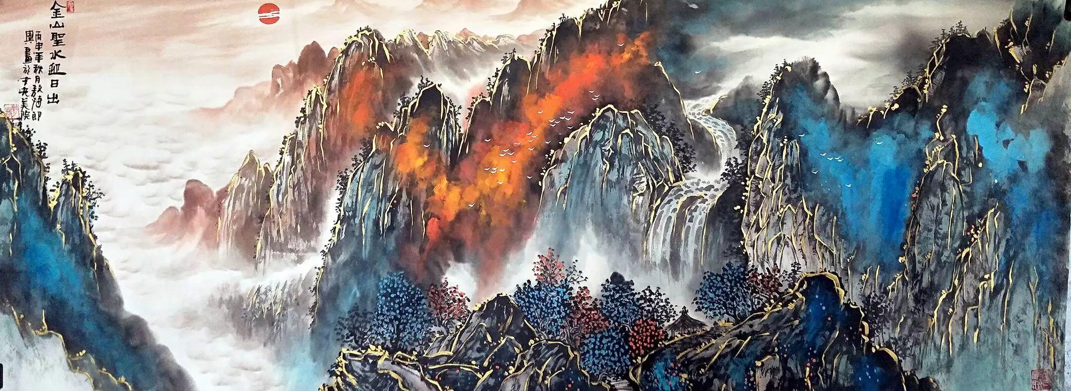 【人物传真】著名蒙古族青年艺术家——敖特 第32张 【人物传真】著名蒙古族青年艺术家——敖特 蒙古画廊