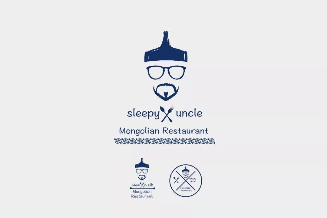 Sleepy uncle logo 第4张 Sleepy uncle logo 蒙古设计