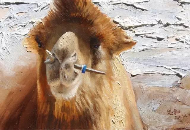 艺术家恩和:与骆驼的不解情缘 第19张