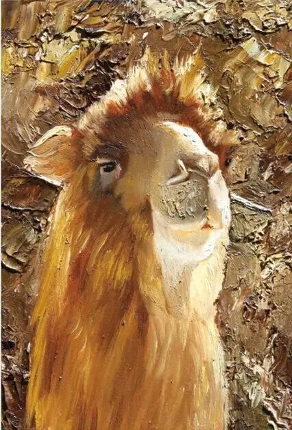 艺术家恩和:与骆驼的不解情缘 第23张