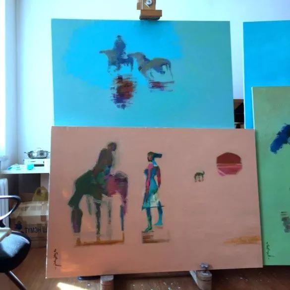 为了你的一本书,我们飞到蒙古去见九位艺术家 第7张 为了你的一本书,我们飞到蒙古去见九位艺术家 蒙古画廊