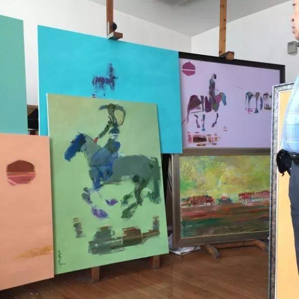 为了你的一本书,我们飞到蒙古去见九位艺术家 第8张 为了你的一本书,我们飞到蒙古去见九位艺术家 蒙古画廊