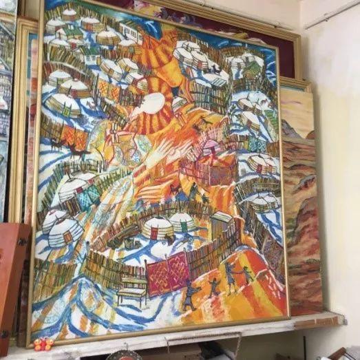 为了你的一本书,我们飞到蒙古去见九位艺术家 第13张 为了你的一本书,我们飞到蒙古去见九位艺术家 蒙古画廊