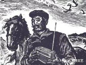 莫日根版画作品欣赏 第7张 莫日根版画作品欣赏 蒙古画廊