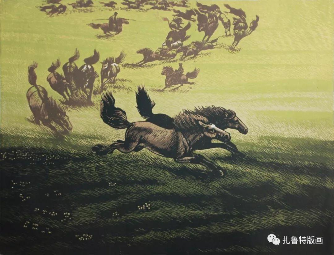 牧民版画家--照那木拉 第2张