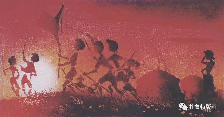 金星铎版画作品欣赏 第12张