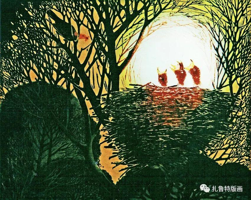 金星铎版画作品欣赏 第34张