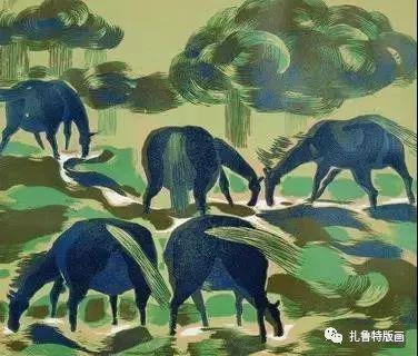 大草原的版画梦想—山丹版画作品 第20张