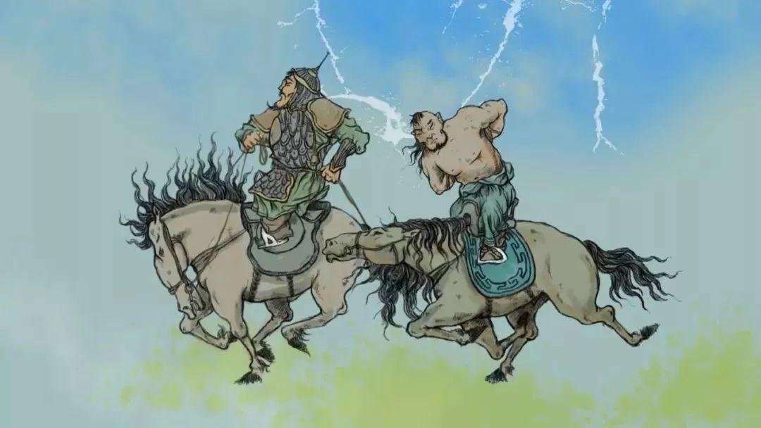 蒙古插画 第1张 蒙古插画 蒙古画廊