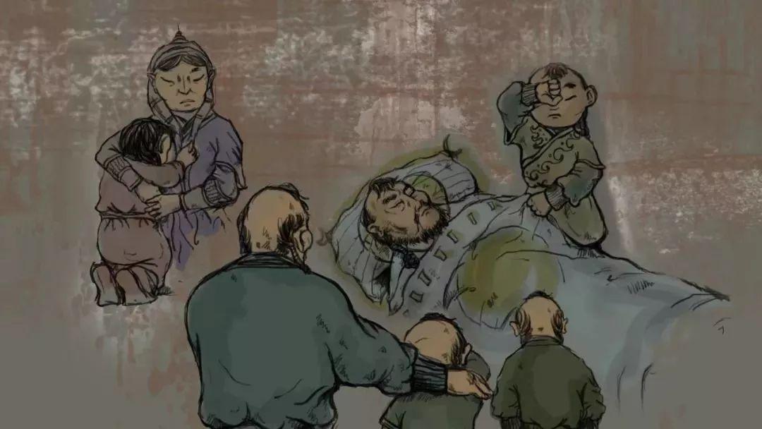 蒙古插画 第4张 蒙古插画 蒙古画廊