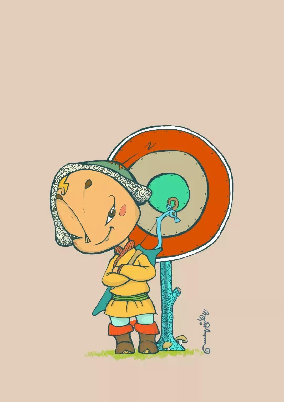 蒙古插画 第25张 蒙古插画 蒙古画廊