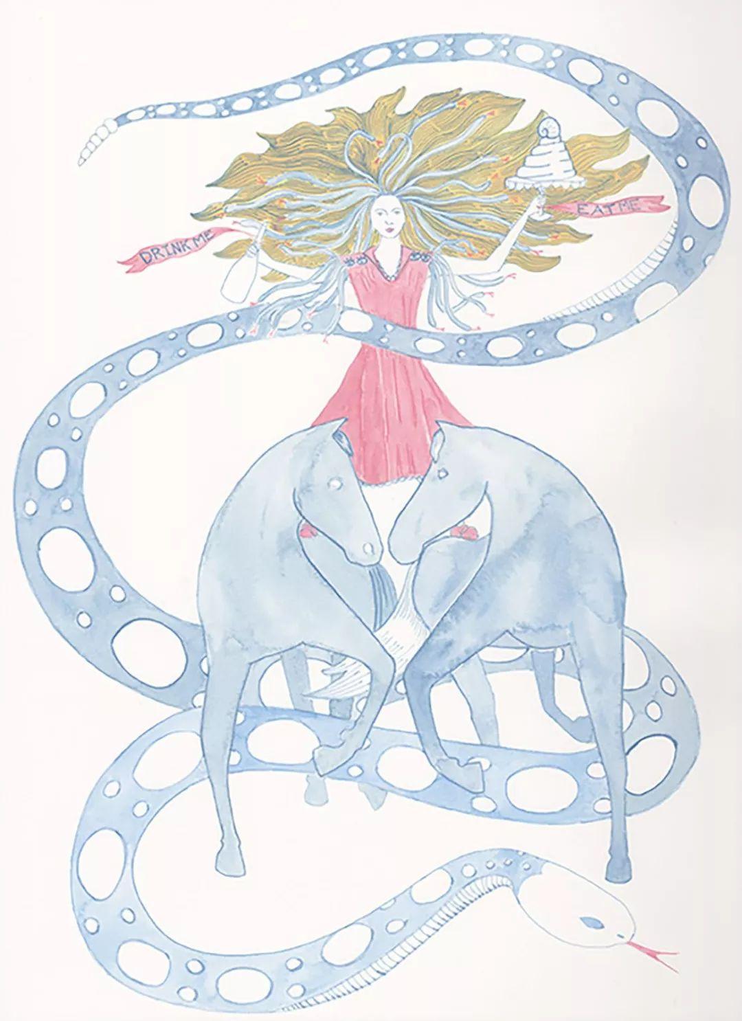 美国Dana Sherwood新的插画探讨了蒙古游牧部落 第2张 美国Dana Sherwood新的插画探讨了蒙古游牧部落 蒙古画廊