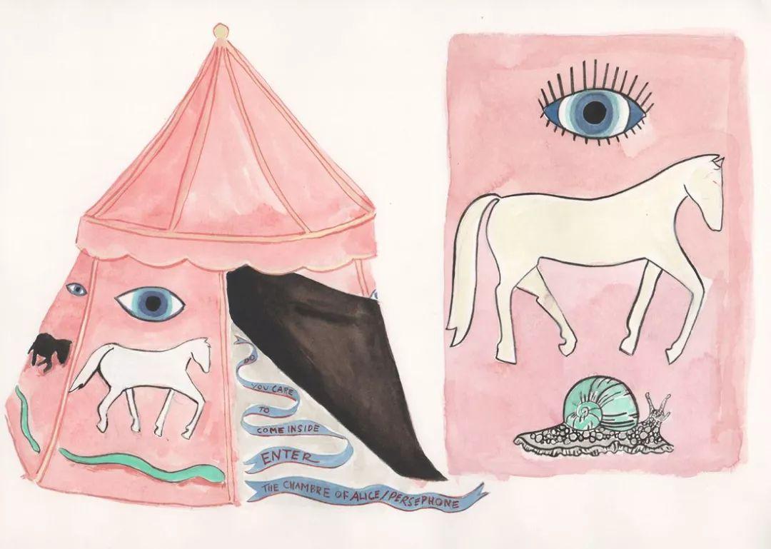 美国Dana Sherwood新的插画探讨了蒙古游牧部落 第6张 美国Dana Sherwood新的插画探讨了蒙古游牧部落 蒙古画廊