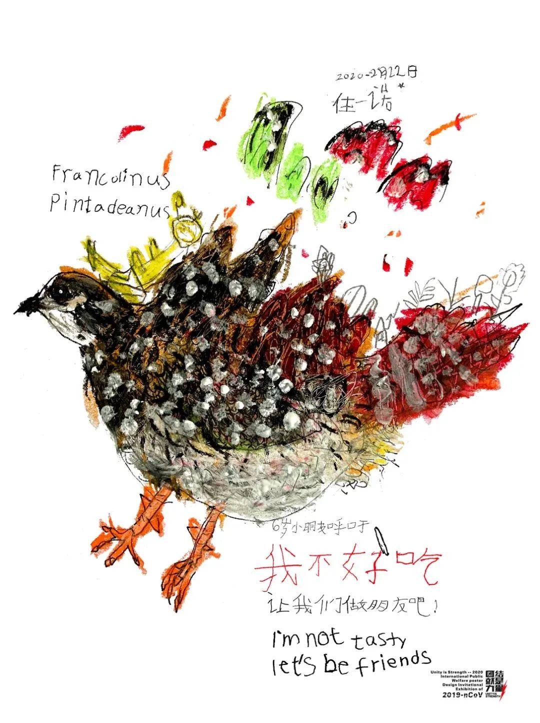 6岁蒙古族小设计师用插画拯救野生动物,为抗疫助力! 第48张