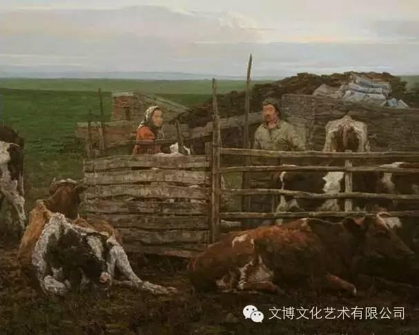 内蒙古油画家—张可扬 第1张 内蒙古油画家—张可扬 蒙古画廊