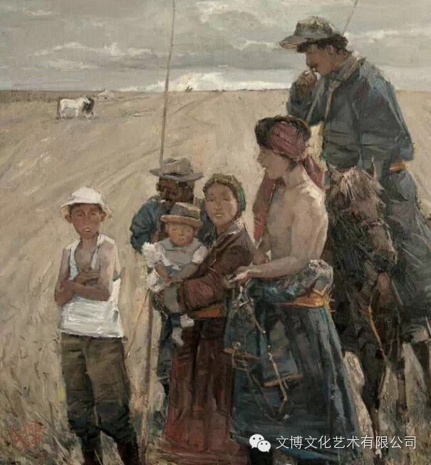内蒙古油画家—张可扬 第2张 内蒙古油画家—张可扬 蒙古画廊