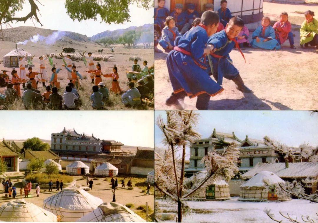 老明信片:30年代的内蒙古  (组图) 第18张 老明信片:30年代的内蒙古  (组图) 蒙古文化