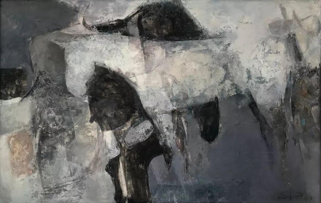【蒙古图片】蒙古马 内蒙古当代美术作品微展 第5张