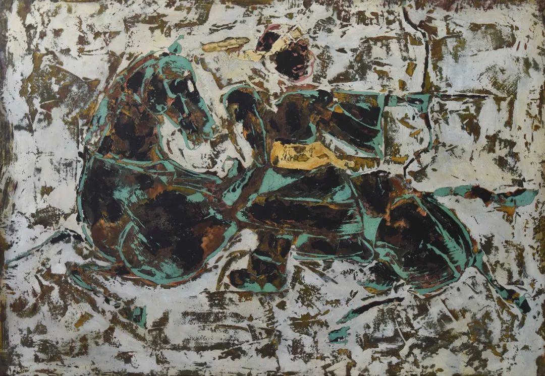 【蒙古图片】蒙古马 内蒙古当代美术作品微展 第6张