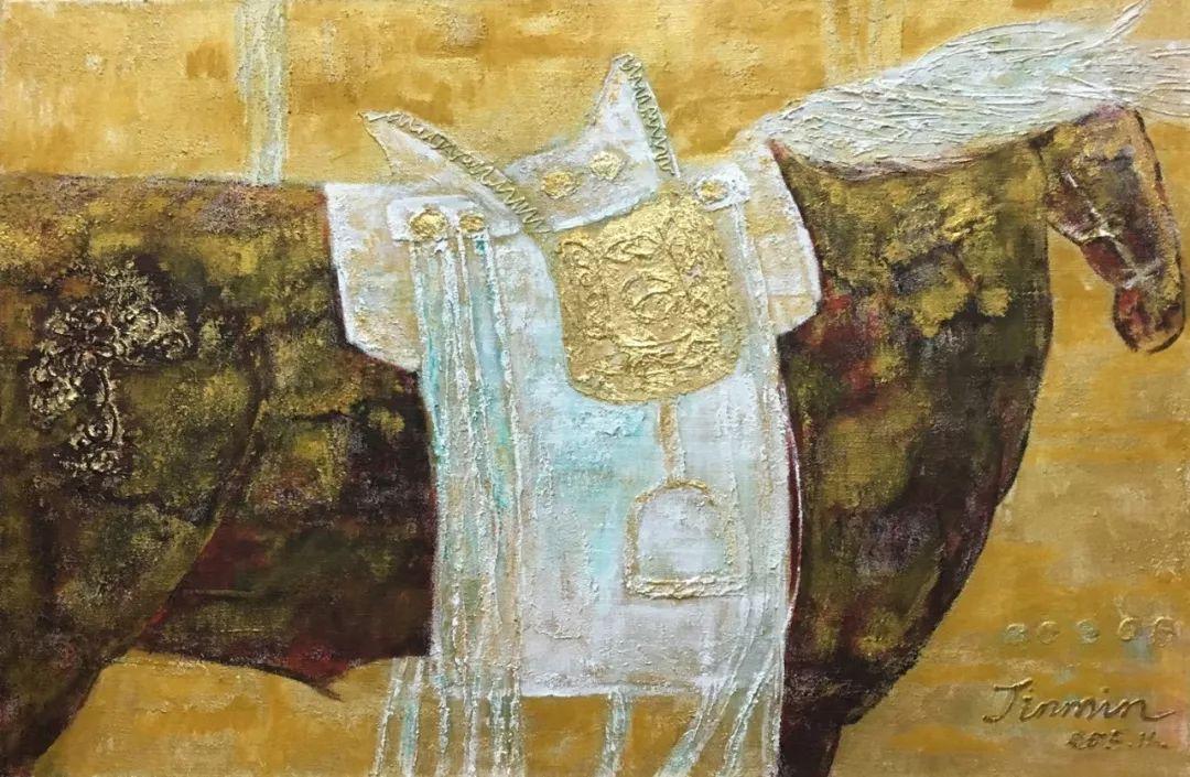 【蒙古图片】蒙古马 内蒙古当代美术作品微展 第17张