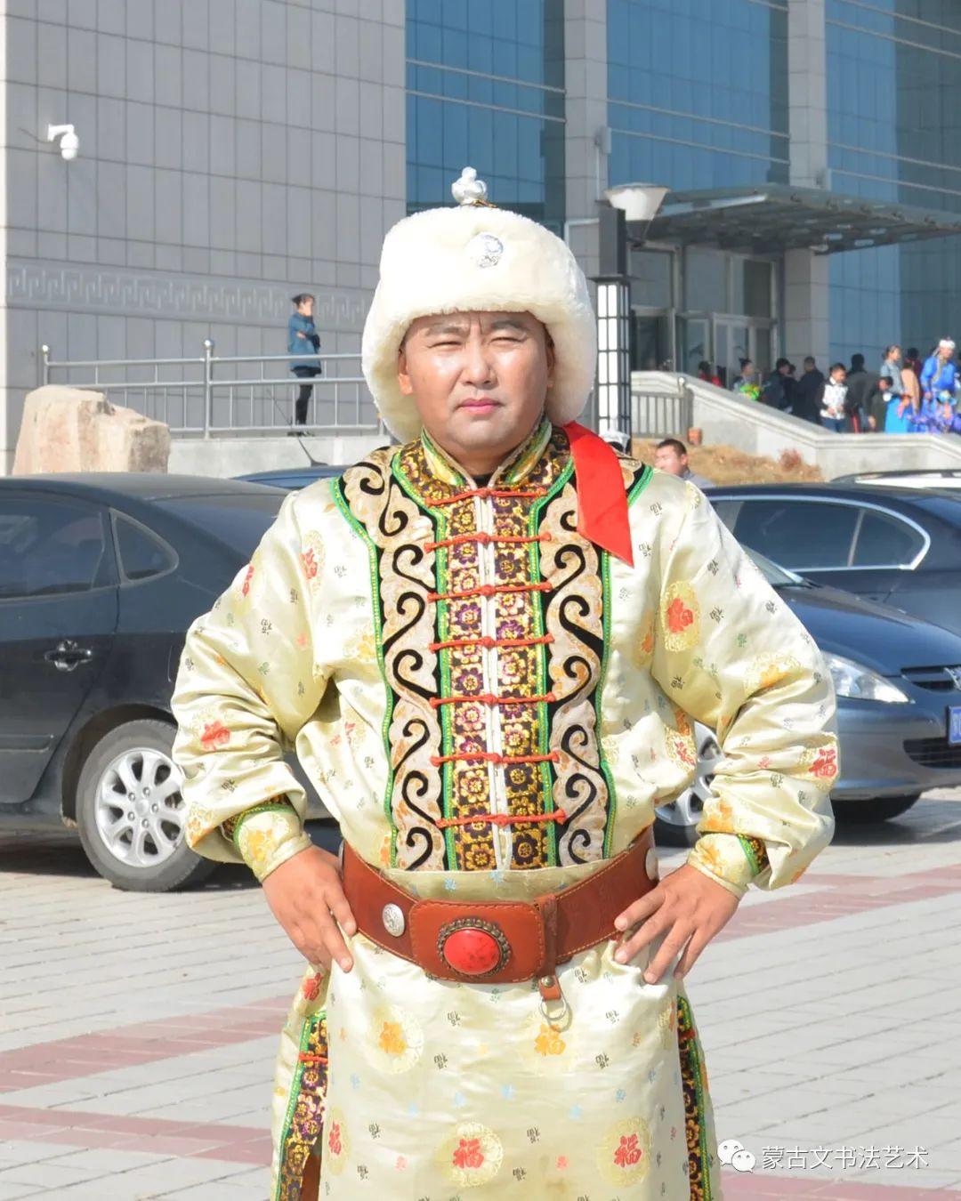 朝鲁门蒙古文书法 第1张