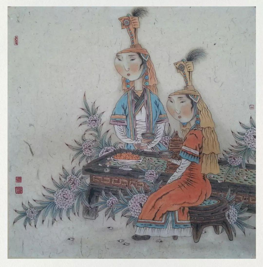 内蒙古当代美术家系列——白嘎力中国画作品选 第2张