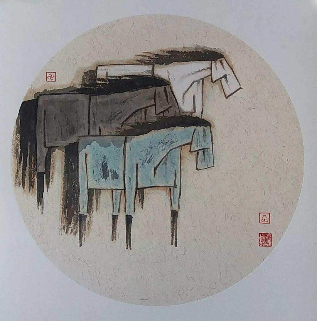 内蒙古当代美术家系列——白嘎力中国画作品选 第7张