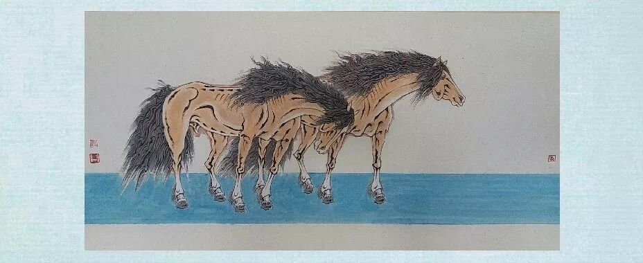 内蒙古当代美术家系列——白嘎力中国画作品选 第8张