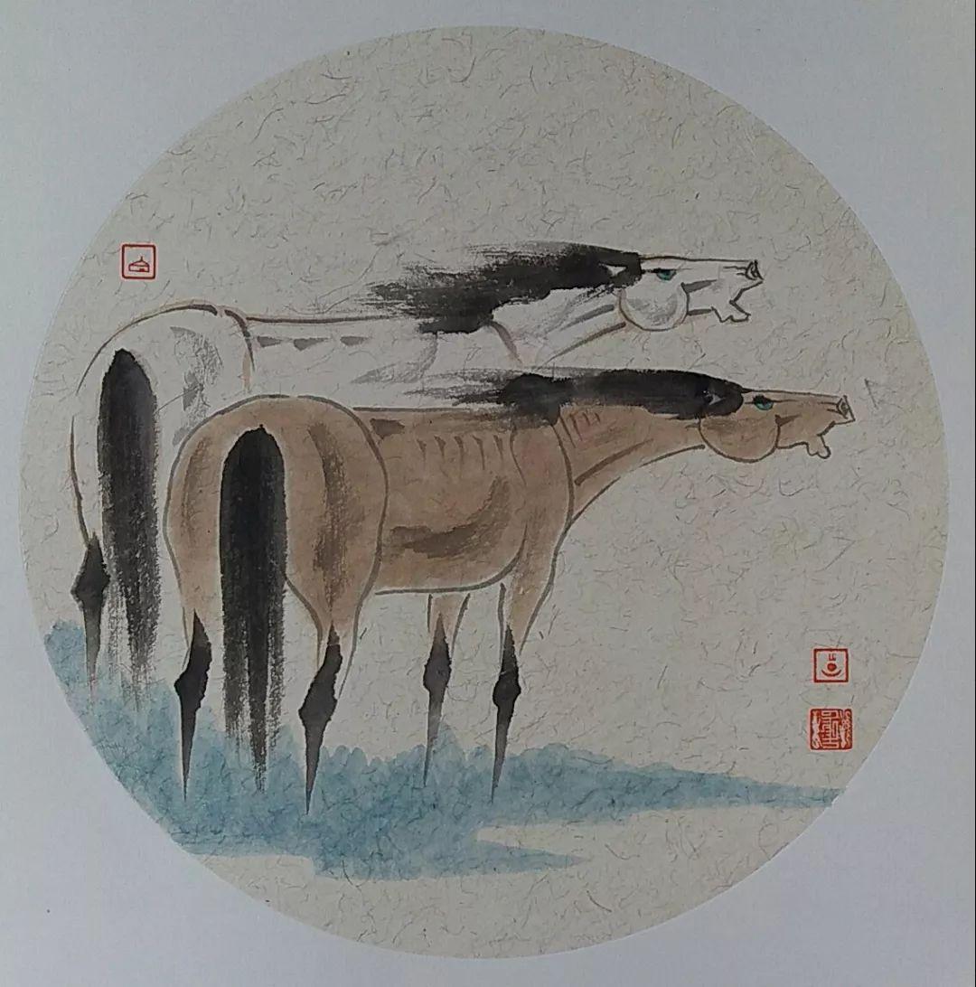 内蒙古当代美术家系列——白嘎力中国画作品选 第14张