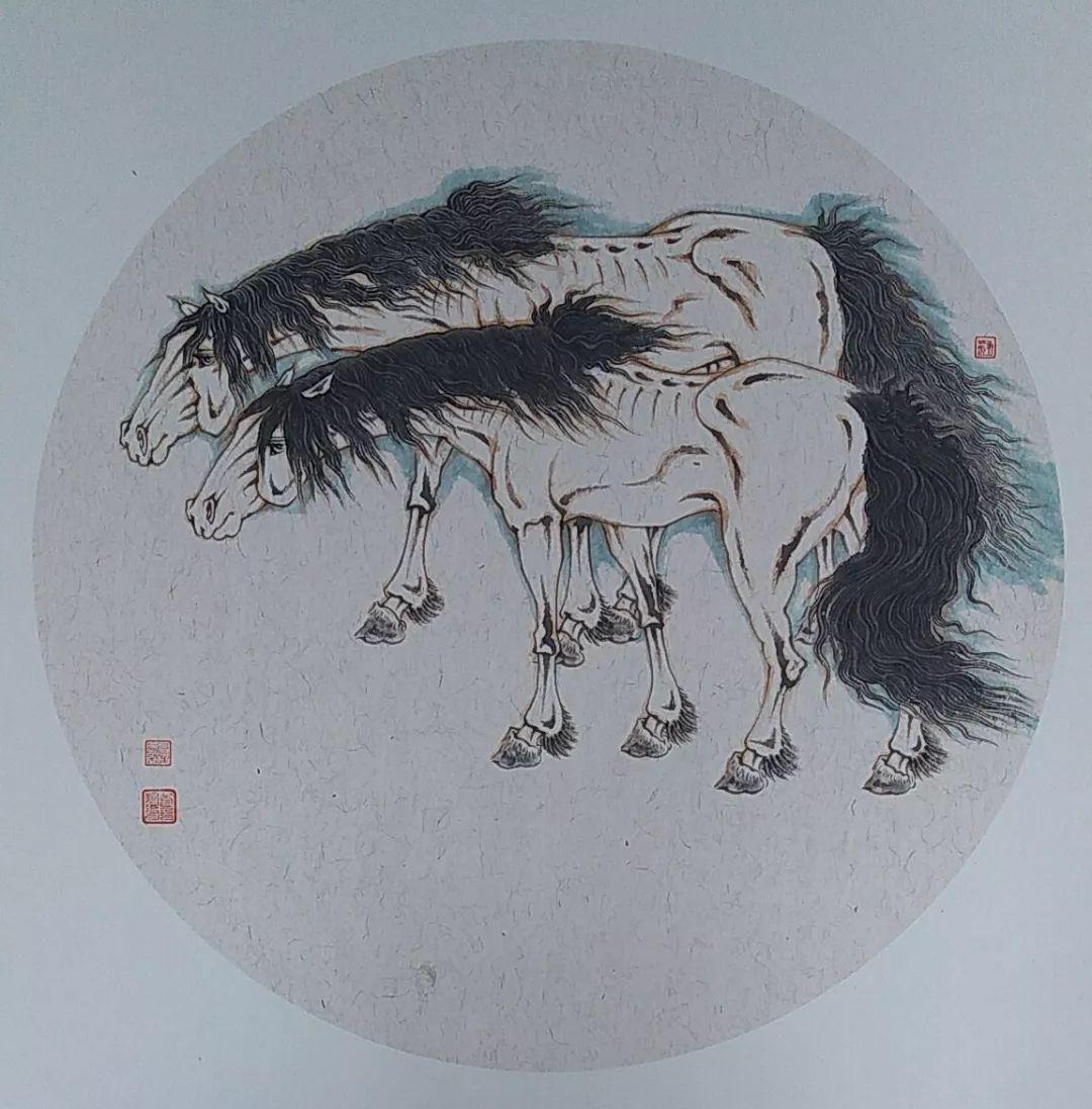 内蒙古当代美术家系列——白嘎力中国画作品选 第15张