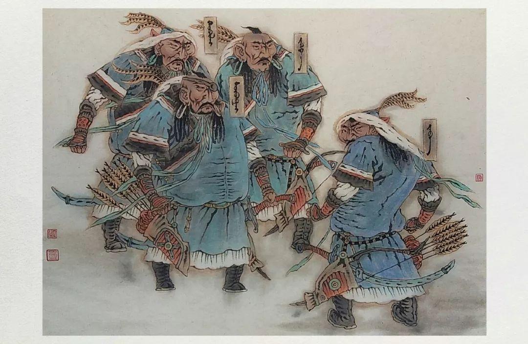 内蒙古当代美术家系列——白嘎力中国画作品选 第28张