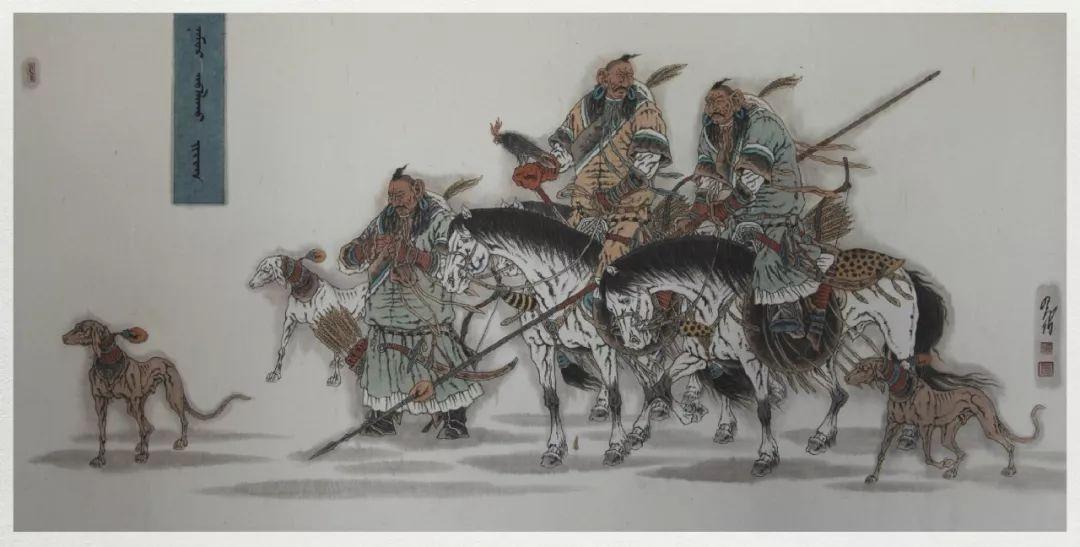 内蒙古当代美术家系列——白嘎力中国画作品选 第31张