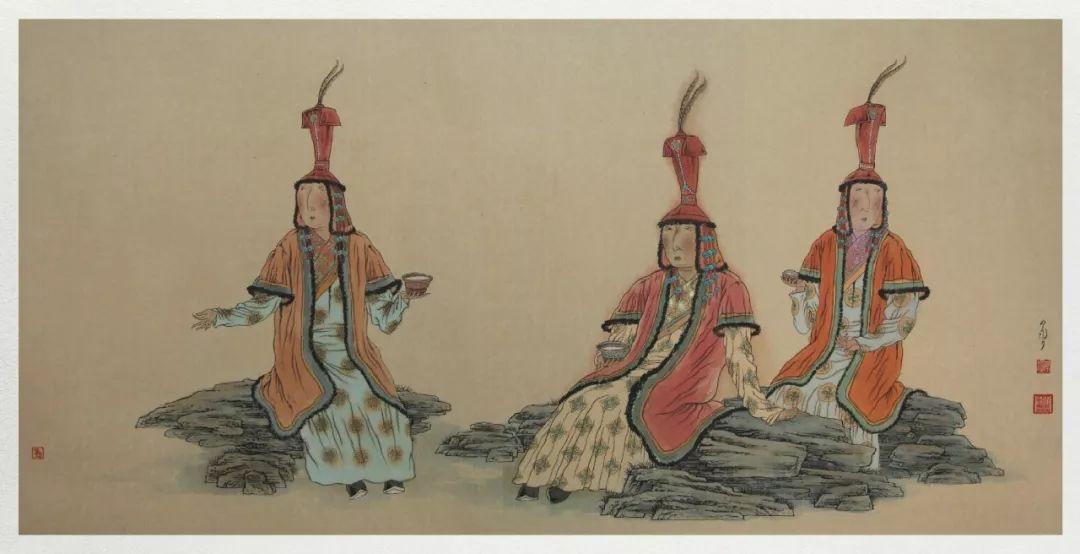 内蒙古当代美术家系列——白嘎力中国画作品选 第36张