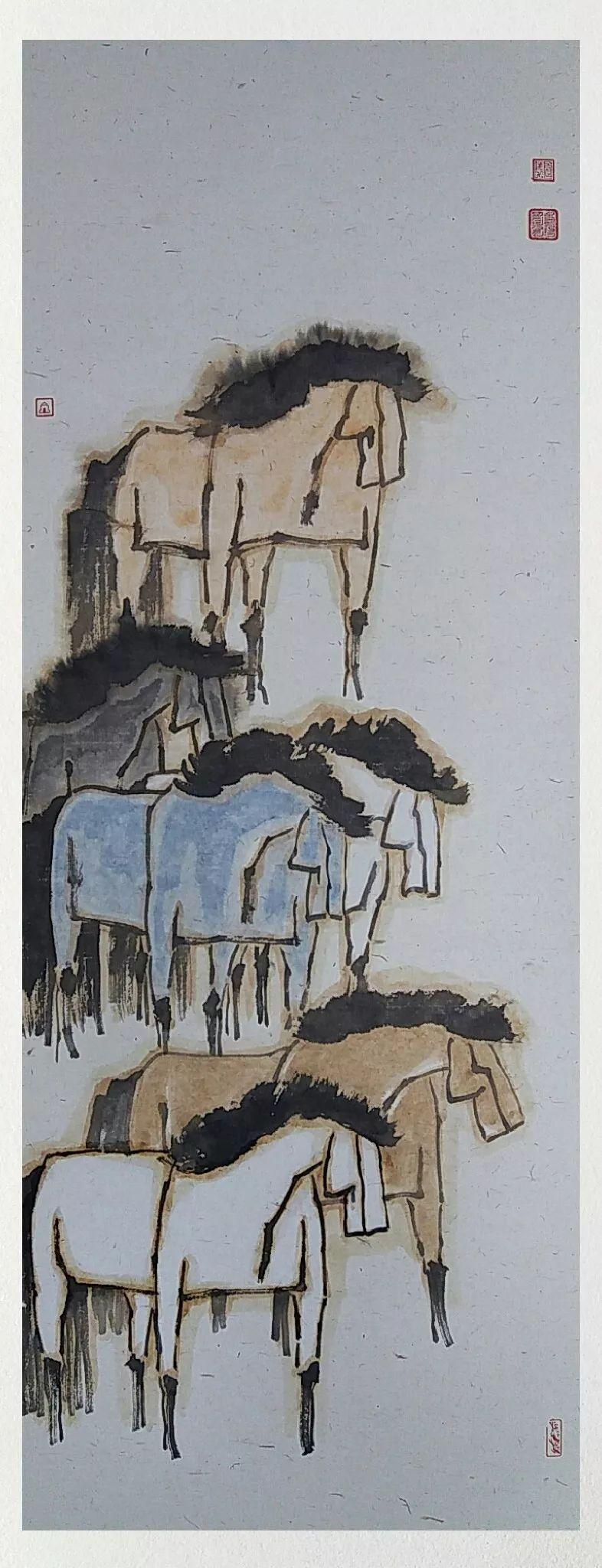 内蒙古当代美术家系列——白嘎力中国画作品选 第35张