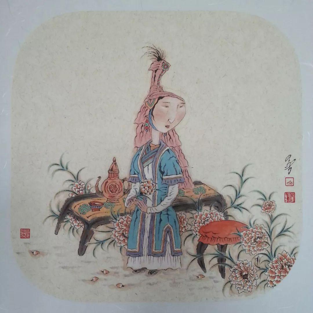 内蒙古当代美术家系列——白嘎力中国画作品选 第37张