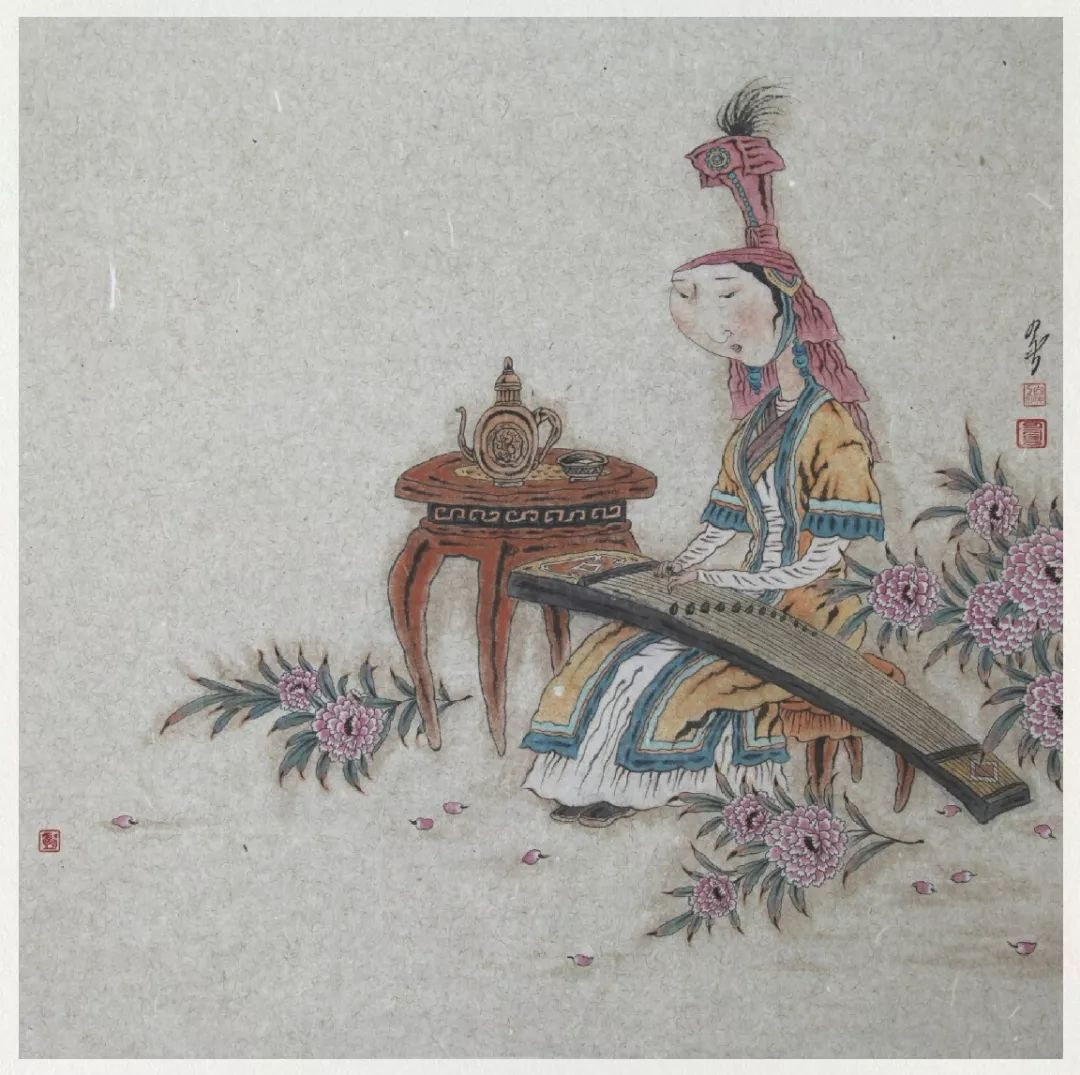 内蒙古当代美术家系列——白嘎力中国画作品选 第40张