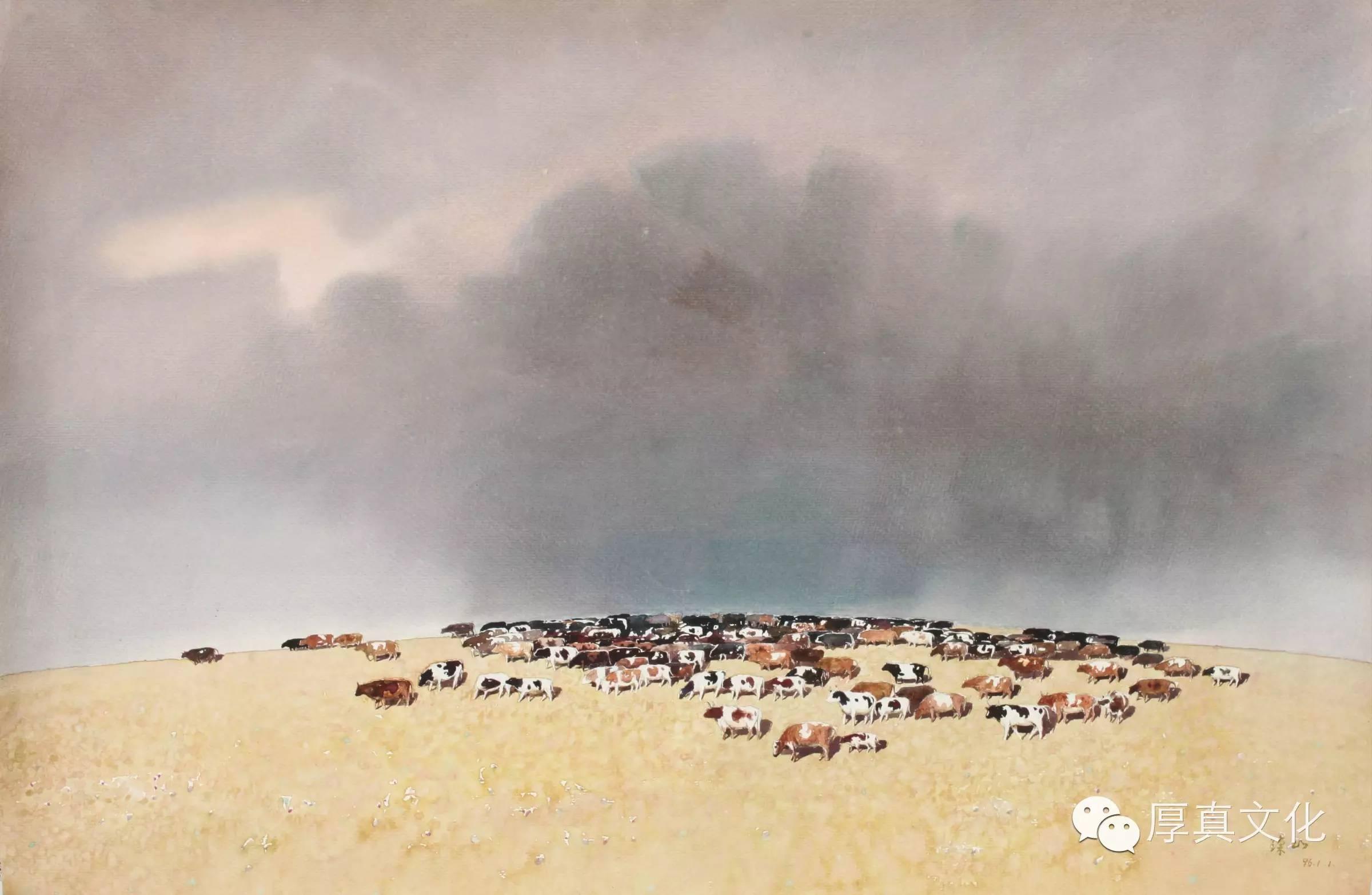 【蒙古人】美术家——云希望 第2张 【蒙古人】美术家——云希望 蒙古画廊