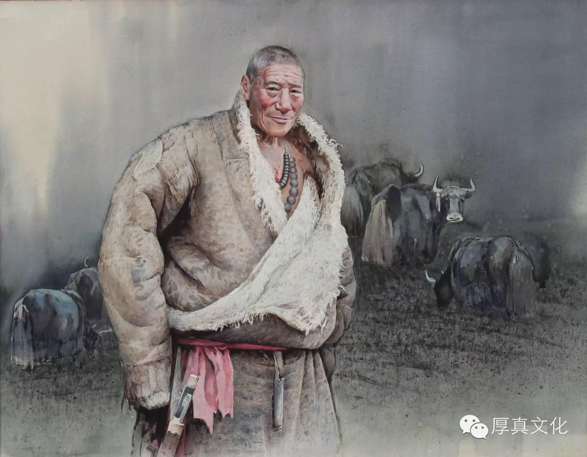 【蒙古人】美术家——云希望 第4张 【蒙古人】美术家——云希望 蒙古画廊