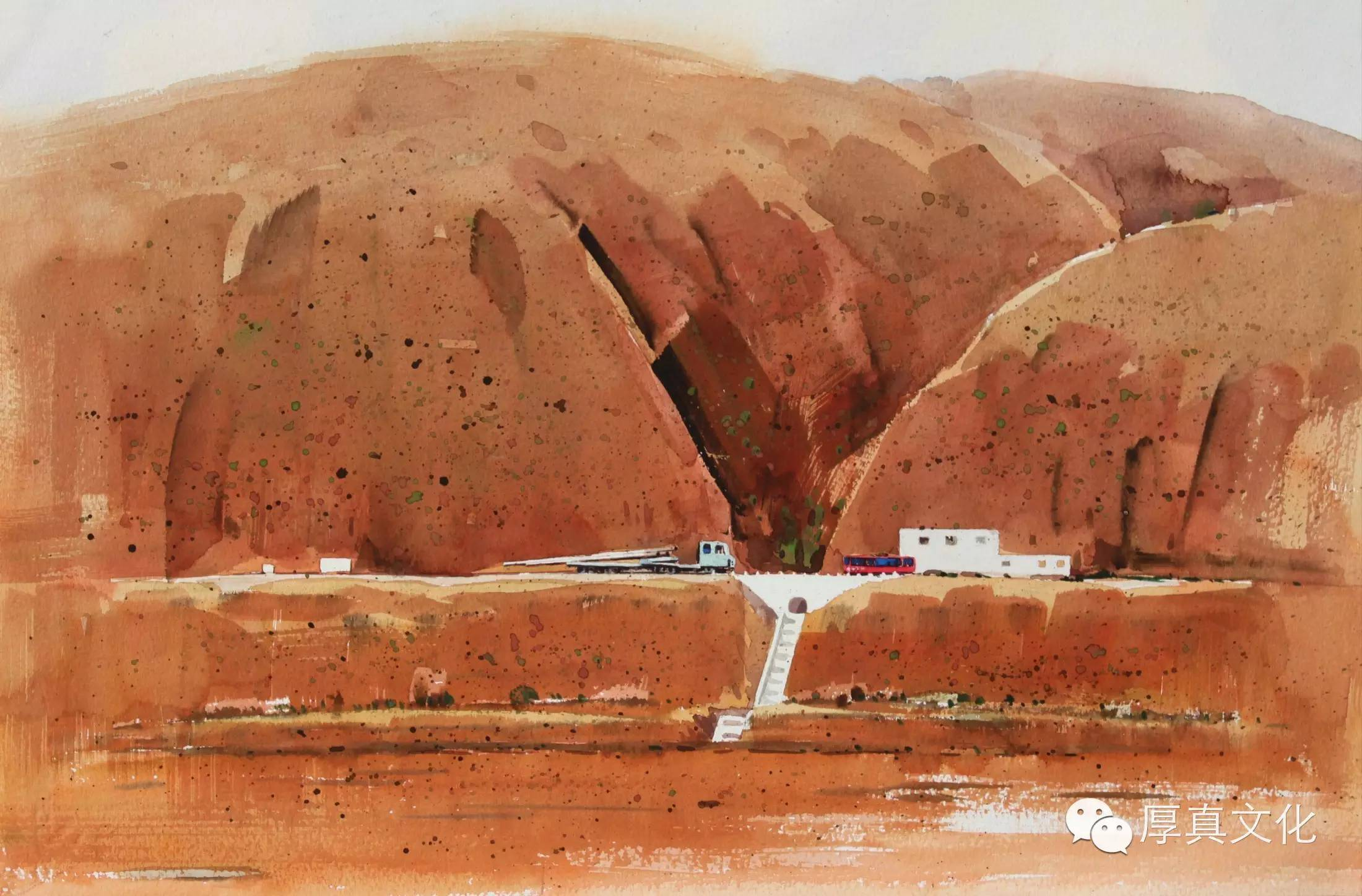 【蒙古人】美术家——云希望 第6张 【蒙古人】美术家——云希望 蒙古画廊