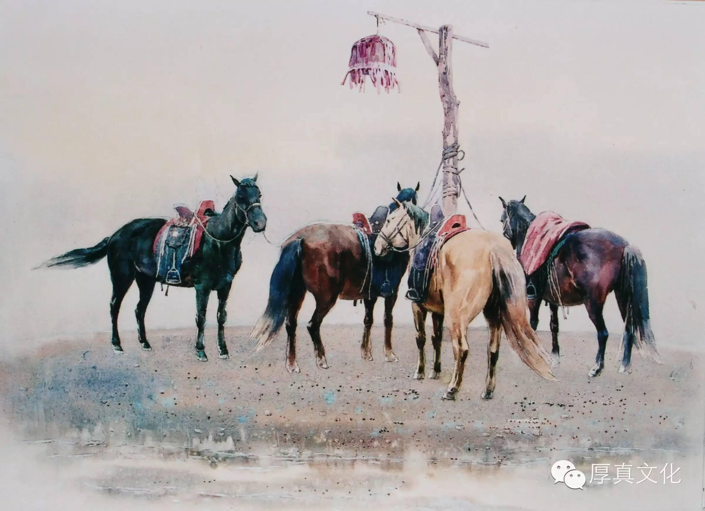 【蒙古人】美术家——云希望 第7张 【蒙古人】美术家——云希望 蒙古画廊