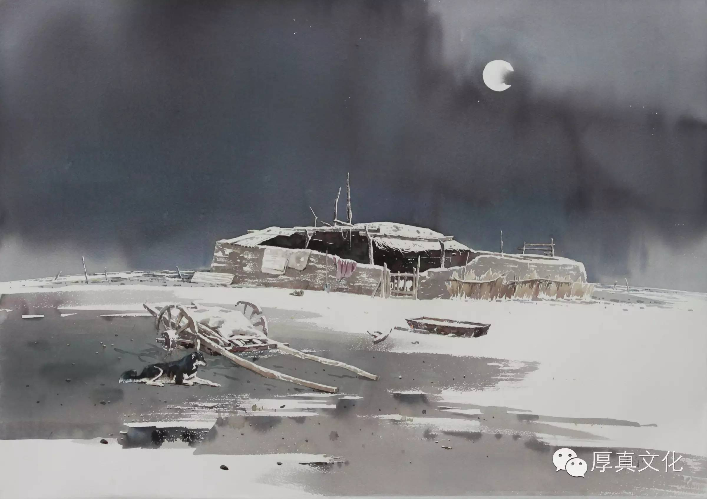 【蒙古人】美术家——云希望 第9张 【蒙古人】美术家——云希望 蒙古画廊