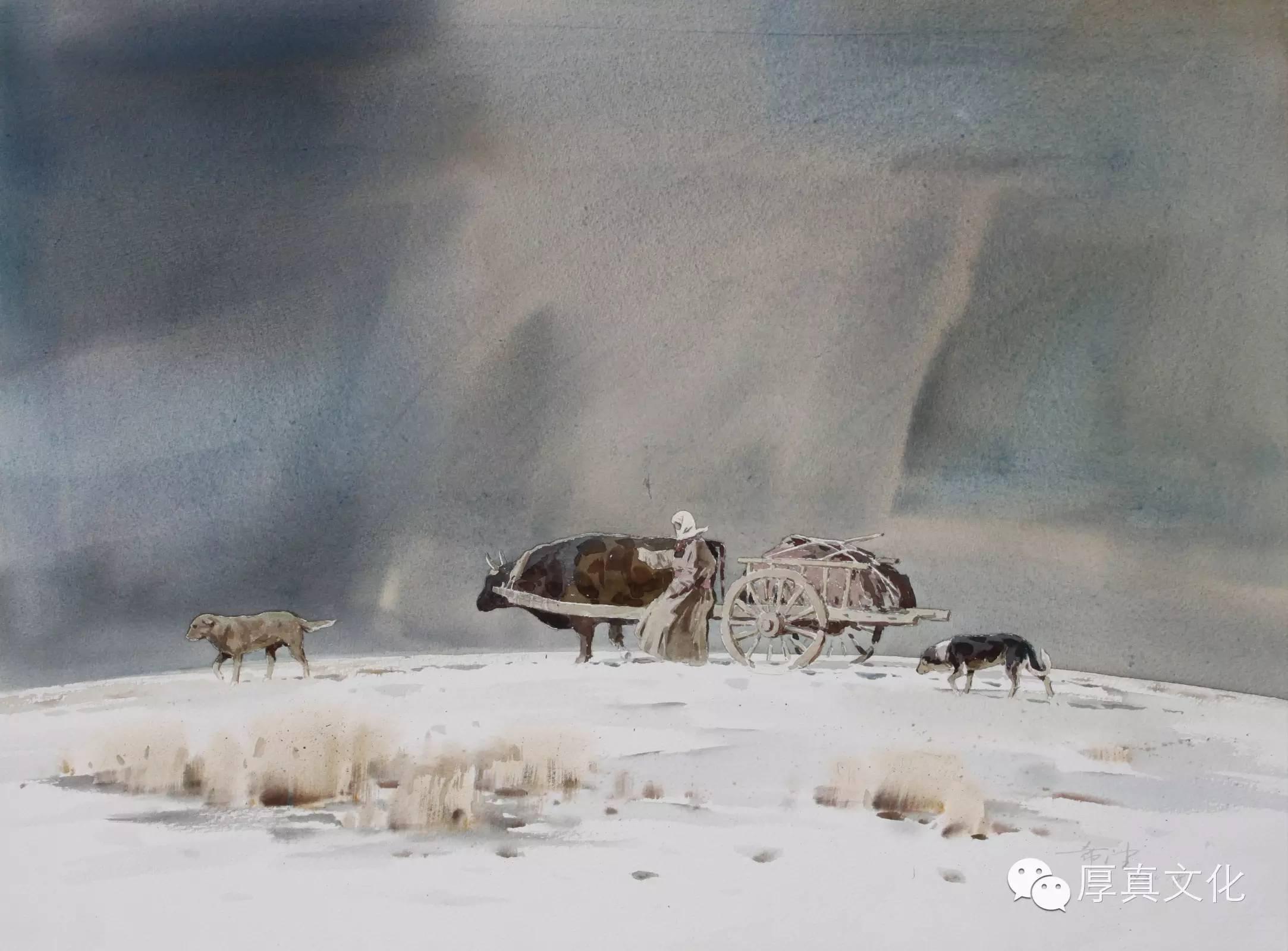 【蒙古人】美术家——云希望 第8张 【蒙古人】美术家——云希望 蒙古画廊