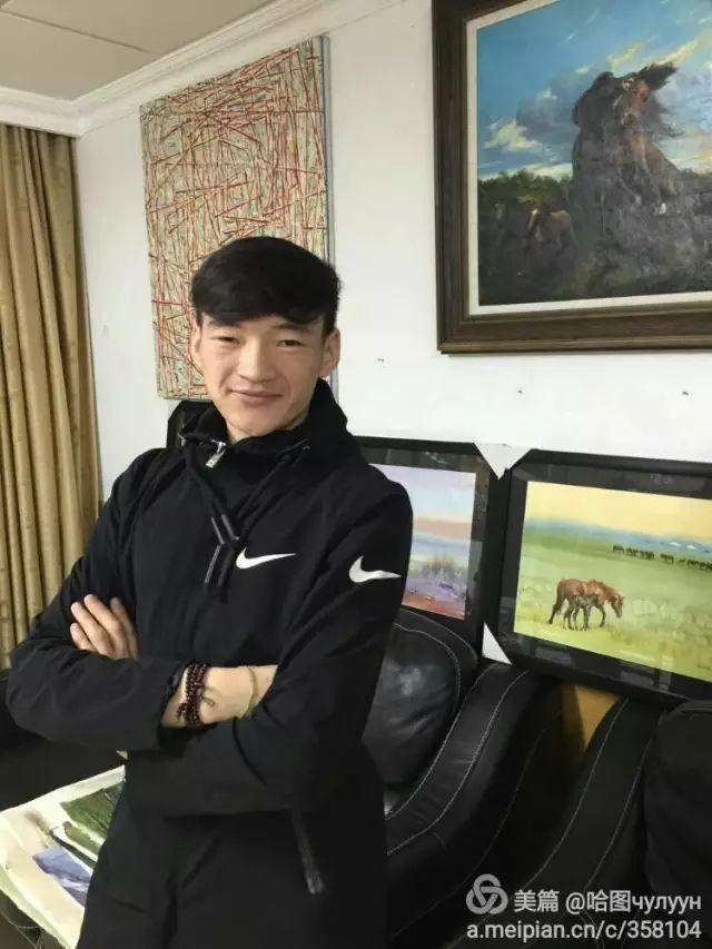 【文艺】蒙古国90后天才画家普日布苏仁作品欣赏(组图) 第3张