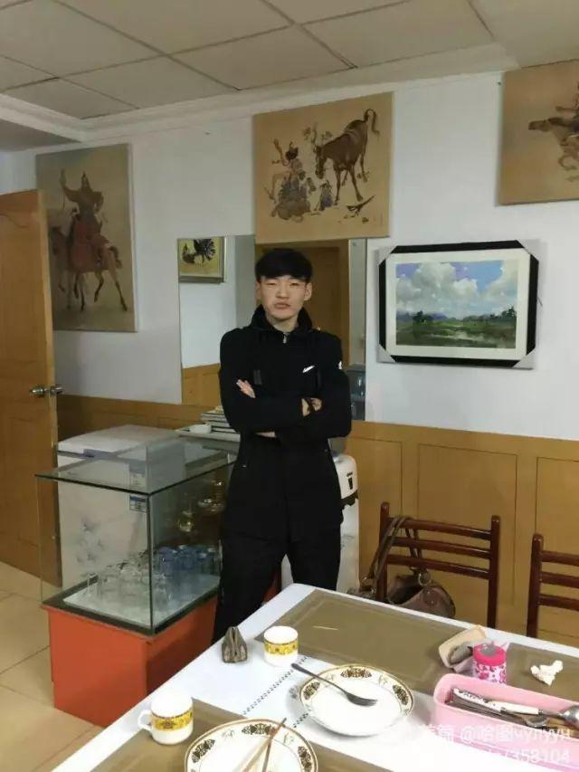 【文艺】蒙古国90后天才画家普日布苏仁作品欣赏(组图) 第4张