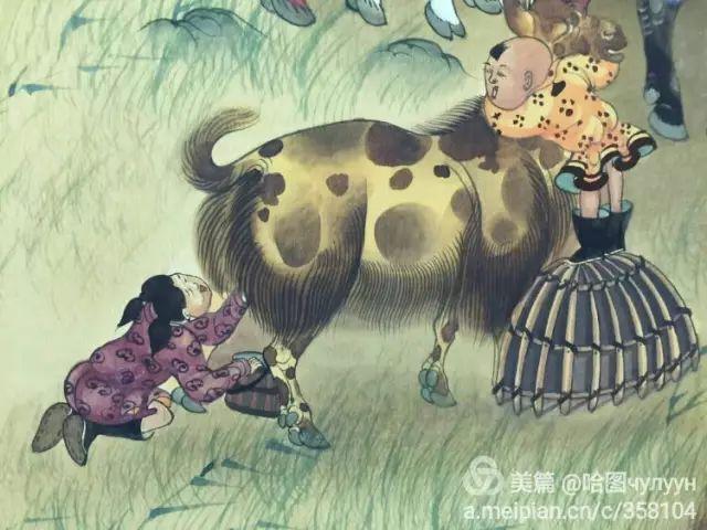 【文艺】蒙古国90后天才画家普日布苏仁作品欣赏(组图) 第14张