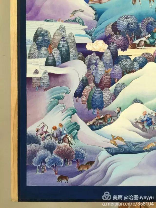 【文艺】蒙古国90后天才画家普日布苏仁作品欣赏(组图) 第20张